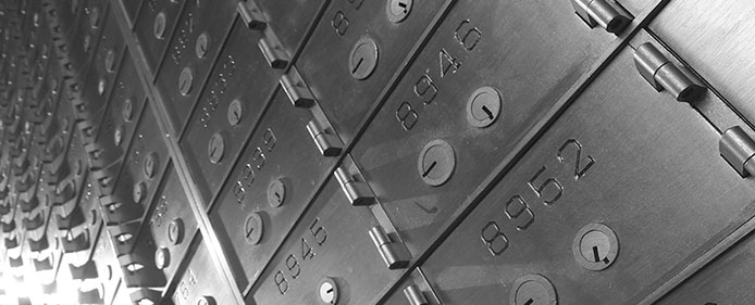 Security Deposit Boxes