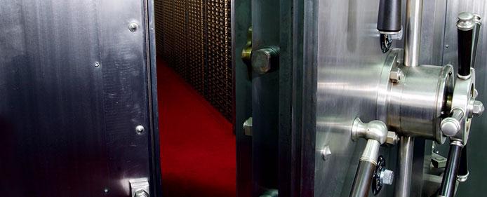 Vault Door and Security Deposit Boxes